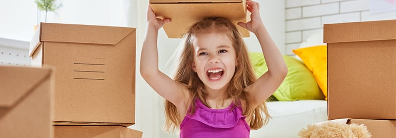 4 ways to prepare children for a move