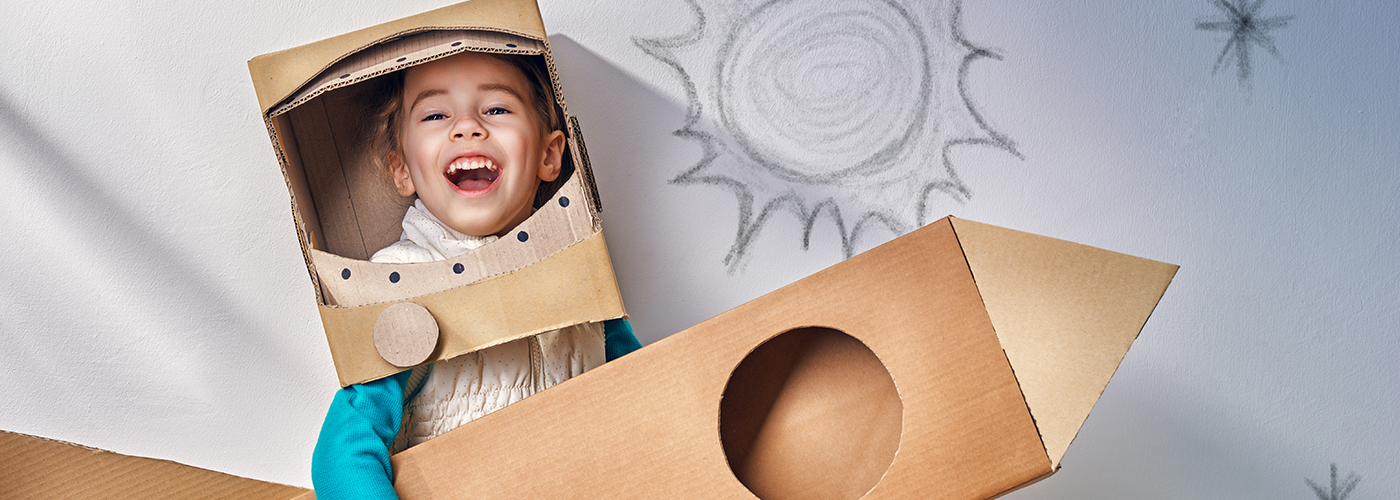 Repurpose Your Moving Boxes as Costumes