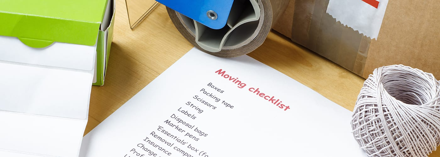 Home Moving Check List