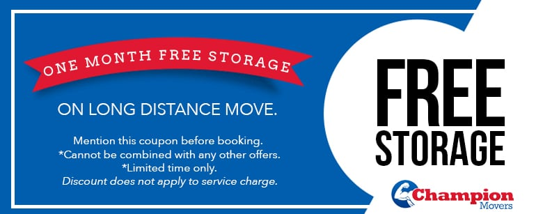 Champion Movers Moving Company - Movers Las Vegas Coupons Free Storage