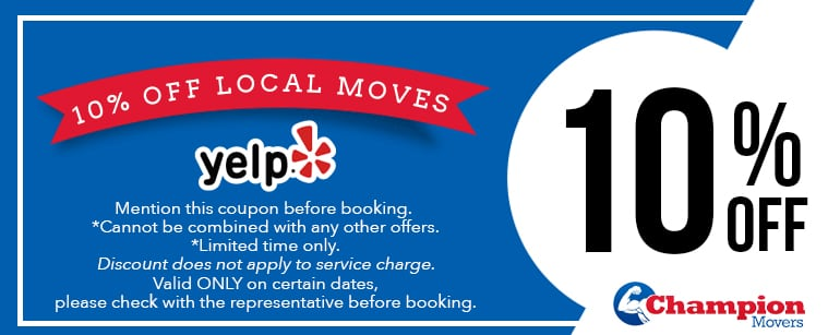 Champion Movers Moving Company - Movers Las Vegas Coupons Local Discount