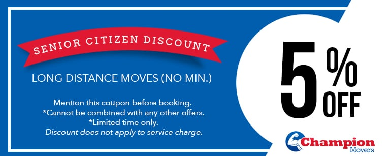 Champion Movers Moving Company - Movers Las Vegas Coupons Senior Discount